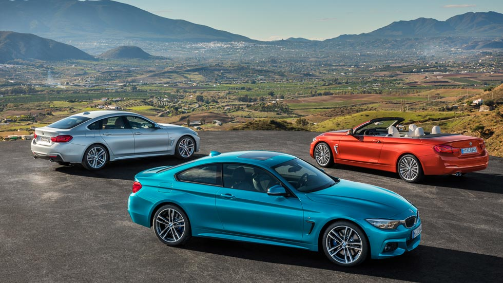 BMW Serie 4 2017: Coupé, Cabrio y Gran Coupé, actualizados