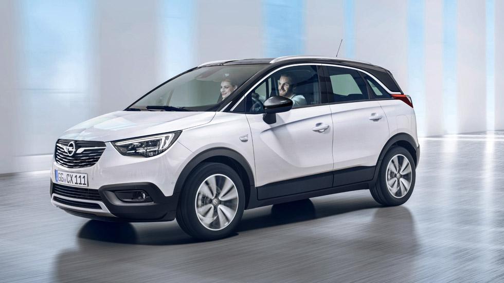 Opel Crossland X: así es el nuevo SUV hecho en España