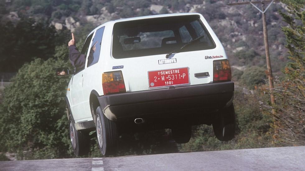Coches para el recuerdo: Fiat Uno Turbo (prueba original íntegra)