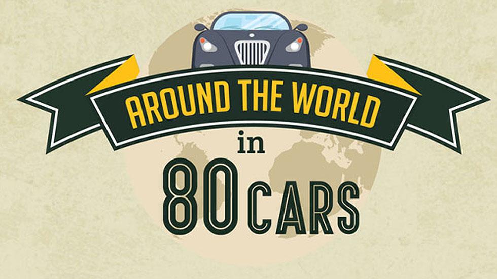Los coches icono de 80 países de todo el mundo