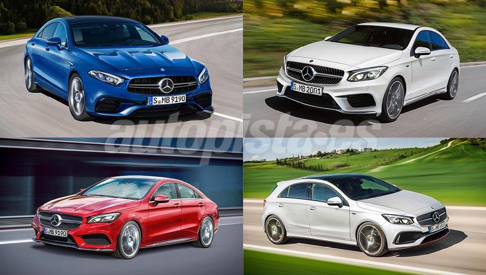 Los nuevos coches de Mercedes que llegarán en 2017 y 2018