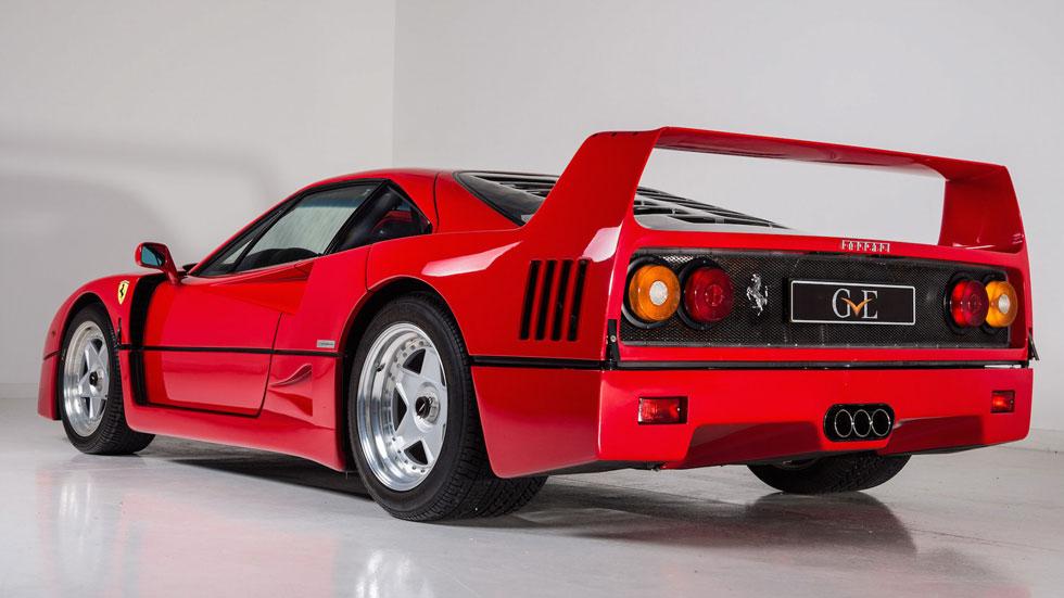 A la venta el Ferrari F40 de Eric Clapton
