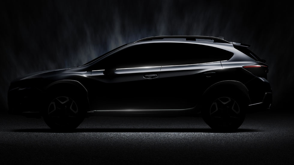 Subaru XV 2017: la nueva generación del SUV, en el Salón de Ginebra