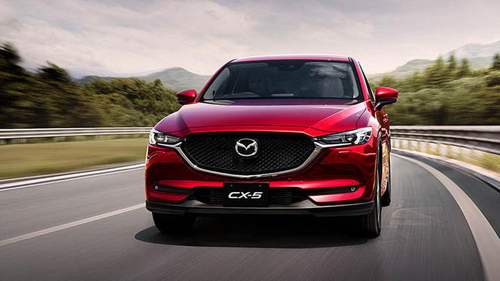 El SUV Mazda CX-5, ¿próximamente con 7 plazas?