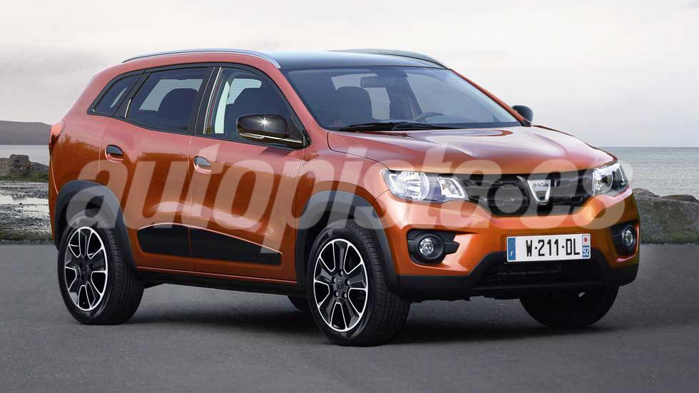 Dacia Grand Duster: ¿el nuevo Duster de 7 asientos?