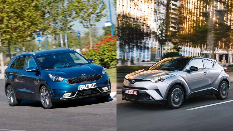 Toyota C-HR vs Kia Niro, ¿cuál es mejor SUV? ¿Y mejor híbrido?