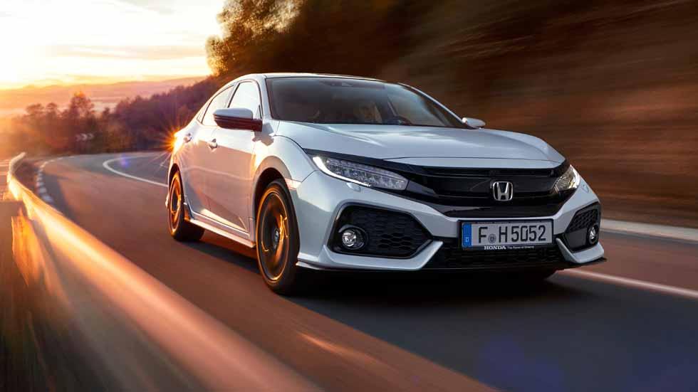 Honda Civic 5 puertas 2017: a prueba un Civic totalmente nuevo