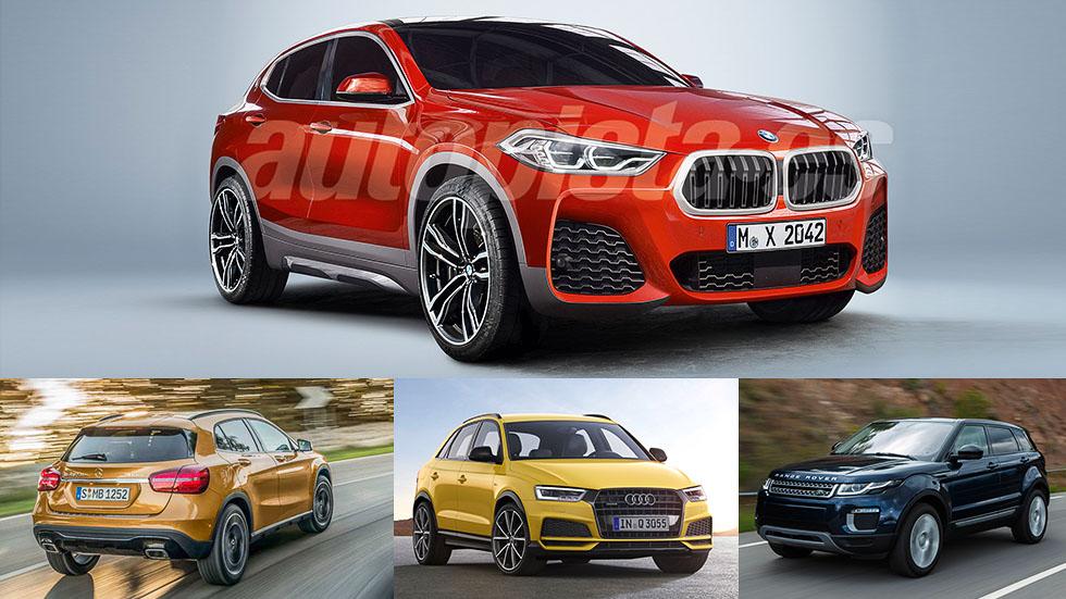 Nuevo BMW X2… y sus rivales SUV