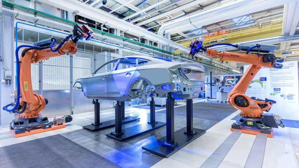 Así será la fábrica inteligente de Audi