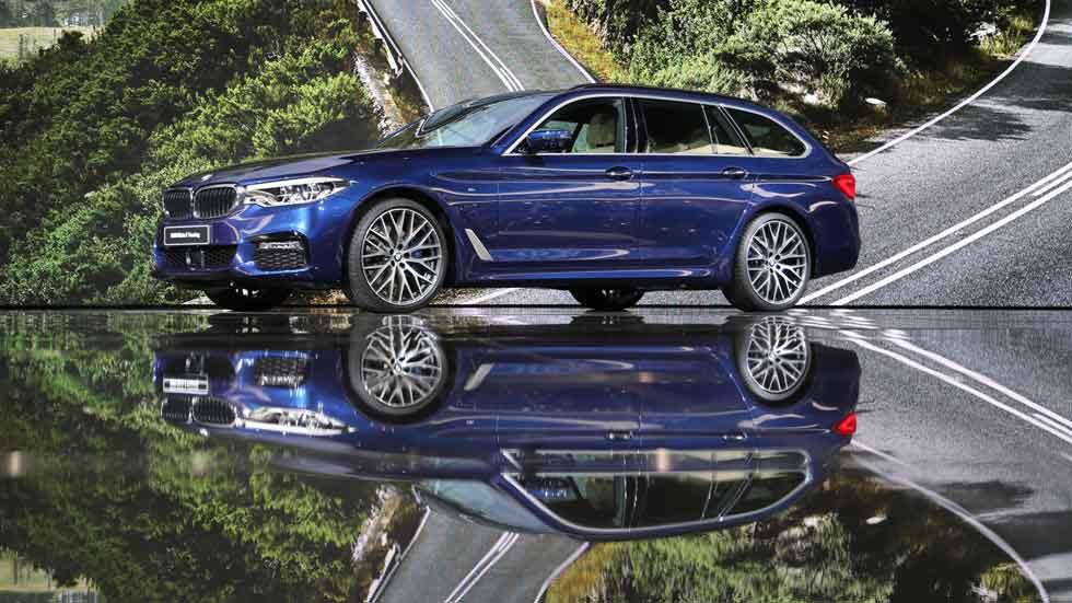 BMW Serie 5 Touring 2017: todos los datos y fotos del Serie 5 familiar