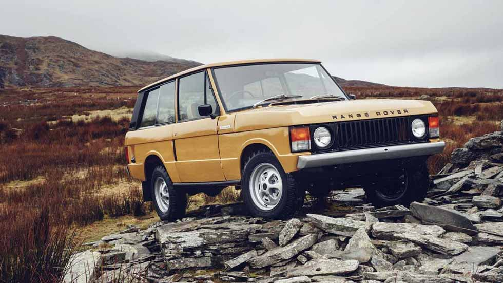 Range Rover Reborn: un clásico que puedes volver a comprar