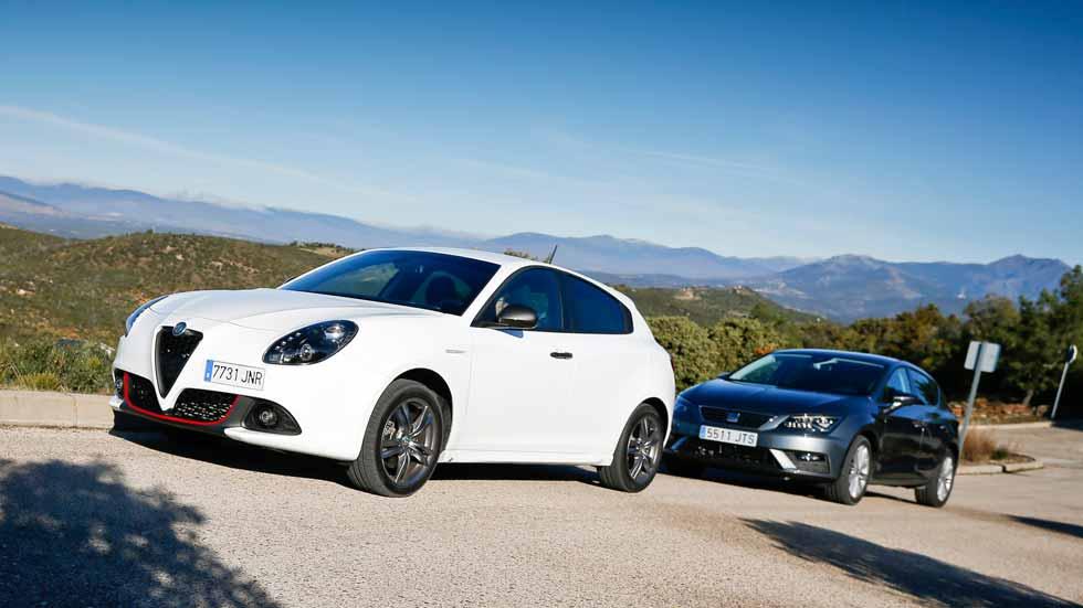 Alfa Giulietta JTDm vs Seat León TDI: ¿cuál es el mejor compacto Diesel?