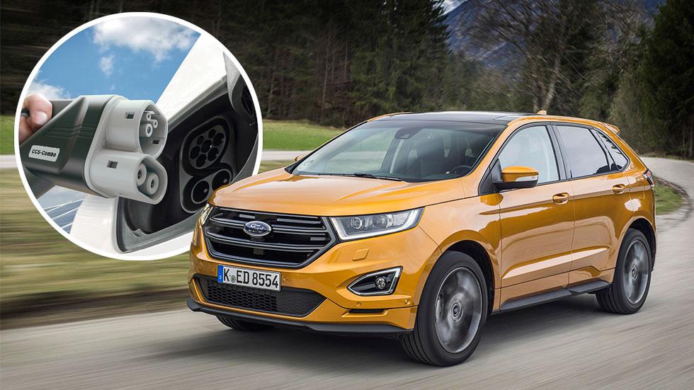 Resultado de imagen para el crossover eléctrico de Ford fotos