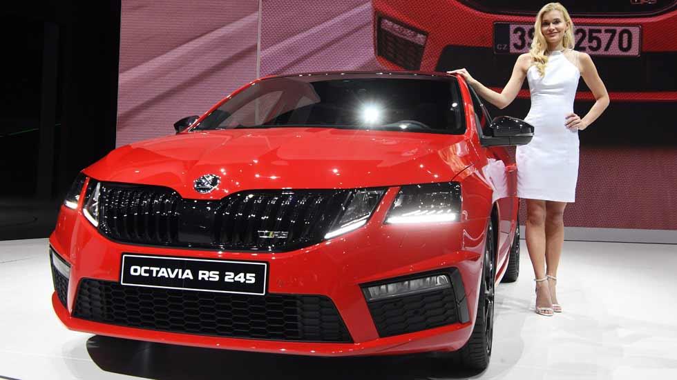 Skoda Octavia RS 245: el Octavia más potente, en el Salón de Ginebra