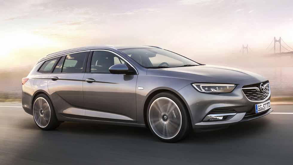 Opel Insignia Sports Tourer 2017: así es el nuevo Insignia familiar