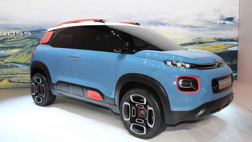 Citroën C-Aircross Concept: un SUV de lo más sorprendente