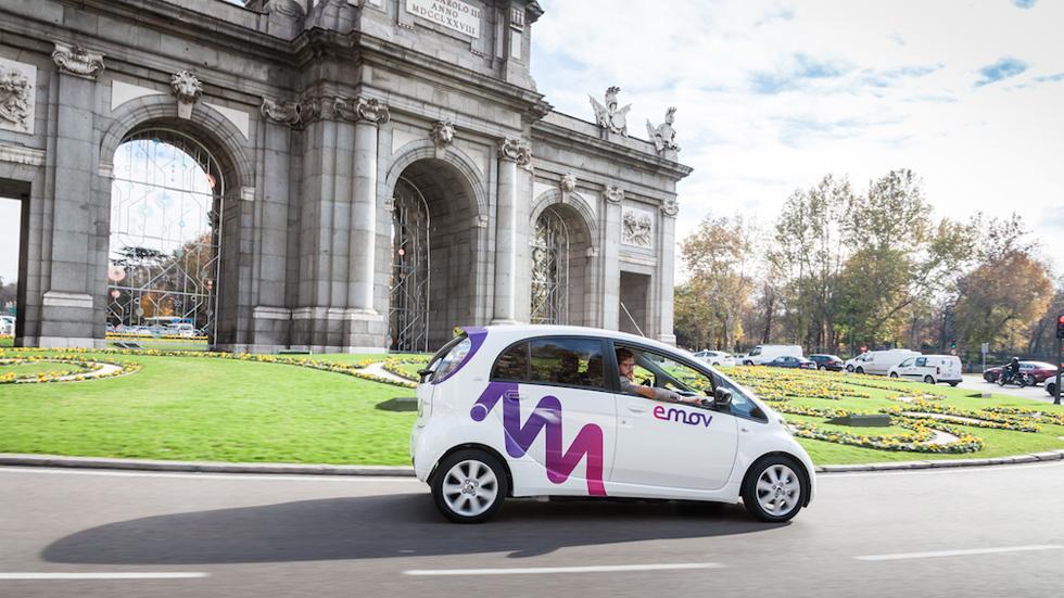 Carsharing Emov: sólo 5 euros y 30 minutos de prueba
