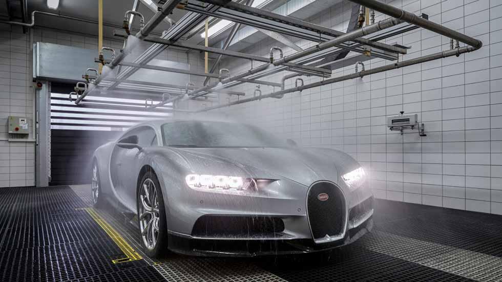 Hecho a mano, así se fabrica el Bugatti Chiron
