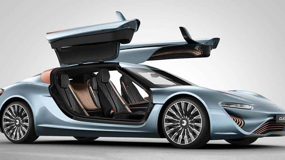 El coche eléctrico con baterías que no se recargan