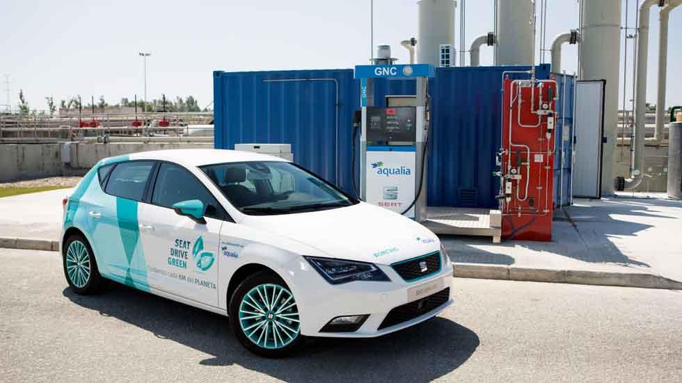 El gas natural, el combustible alternativo más utilizado hoy