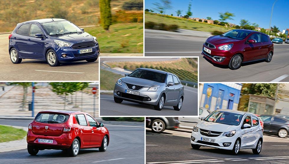 Probamos los nuevos coches baratos: desde 9.000 euros