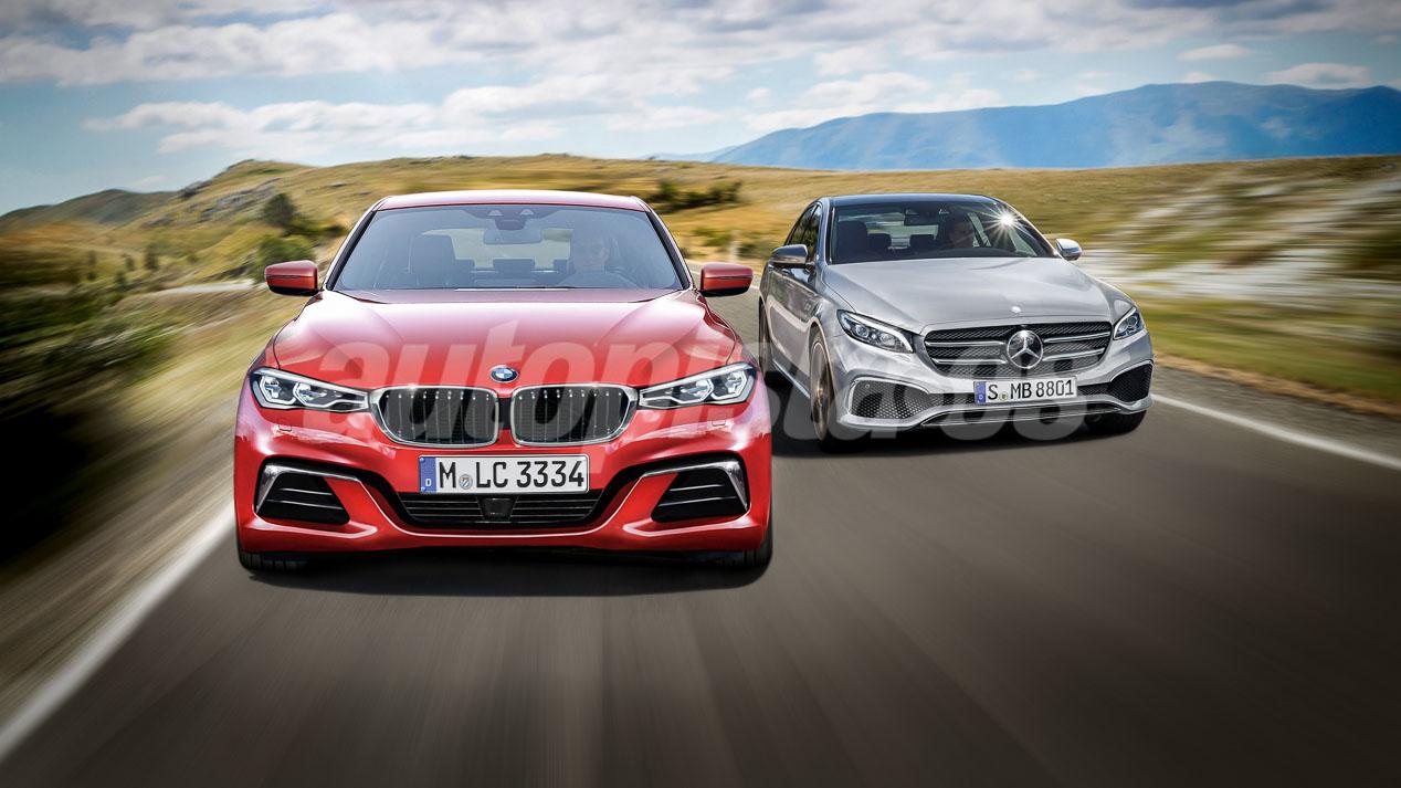 Así serán los nuevos BMW Serie 3 y Mercedes Clase C