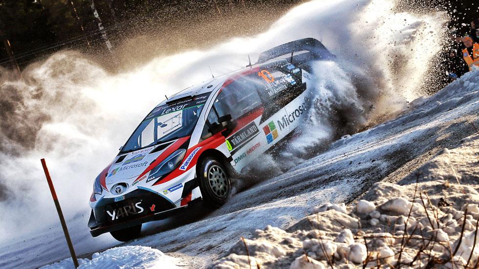 Rally de Suecia 2017: la primera de Toyota y Latvala