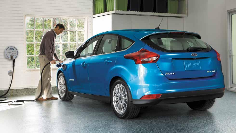 Ford Focus eléctrico 2017, más autonomía y menos tiempo de carga