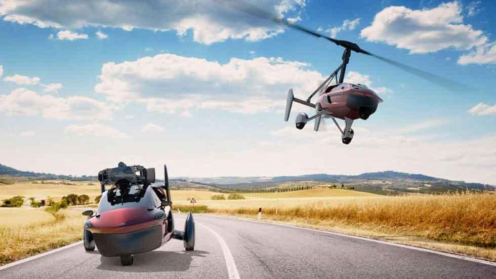 PAV-Liberty: así es el primer coche volador real (vídeo y fotos)