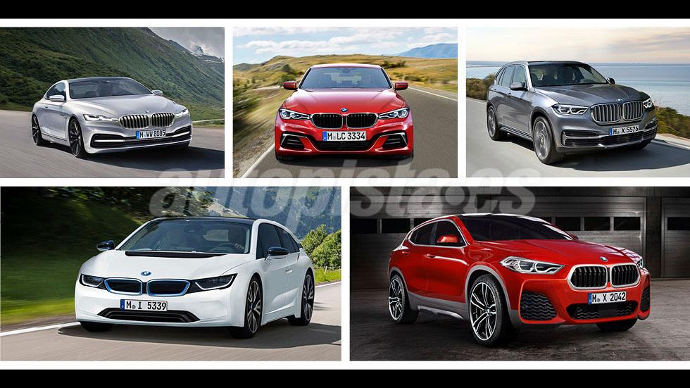 Todas las novedades de BMW: 25 nuevos coches hasta 2021