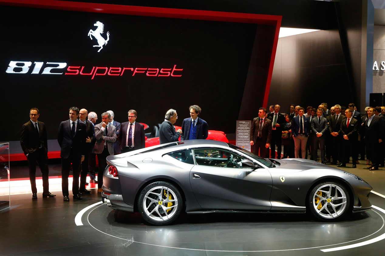 Ferrari 812 Superfast: el Ferrari con el motor más potente de la historia