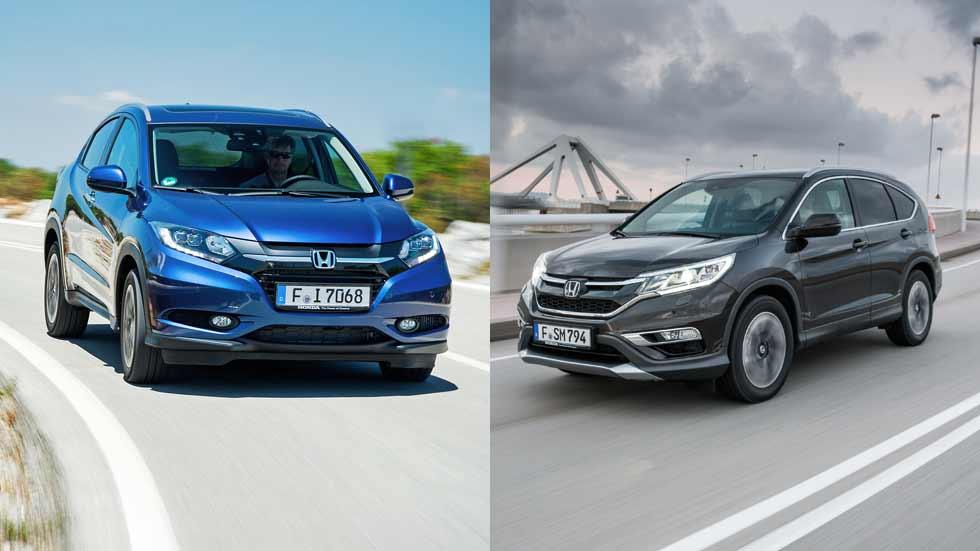 CR-V y HR-V: ¿qué SUV de Honda interesa más?