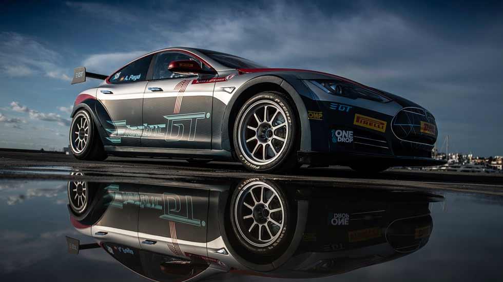EGT Tesla V2.0: así es el súper Tesla eléctrico de carreras