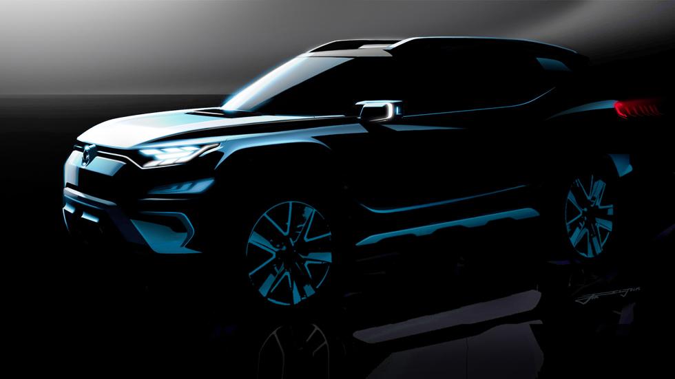 SsangYong XAVL Concept: el 3008 de SsangYong, en el Salón de Ginebra