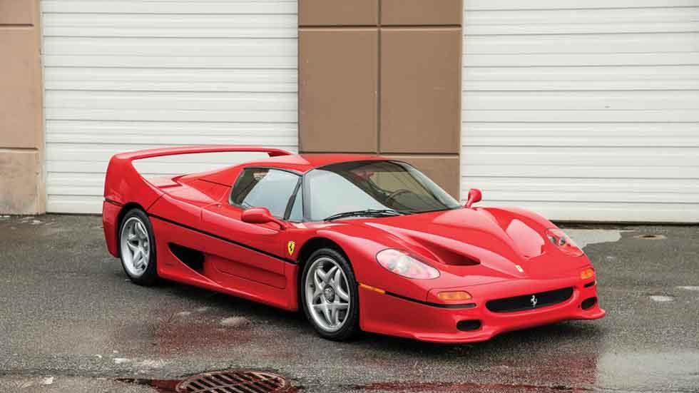 El Ferrari F50 de Mike Tyson, a la venta