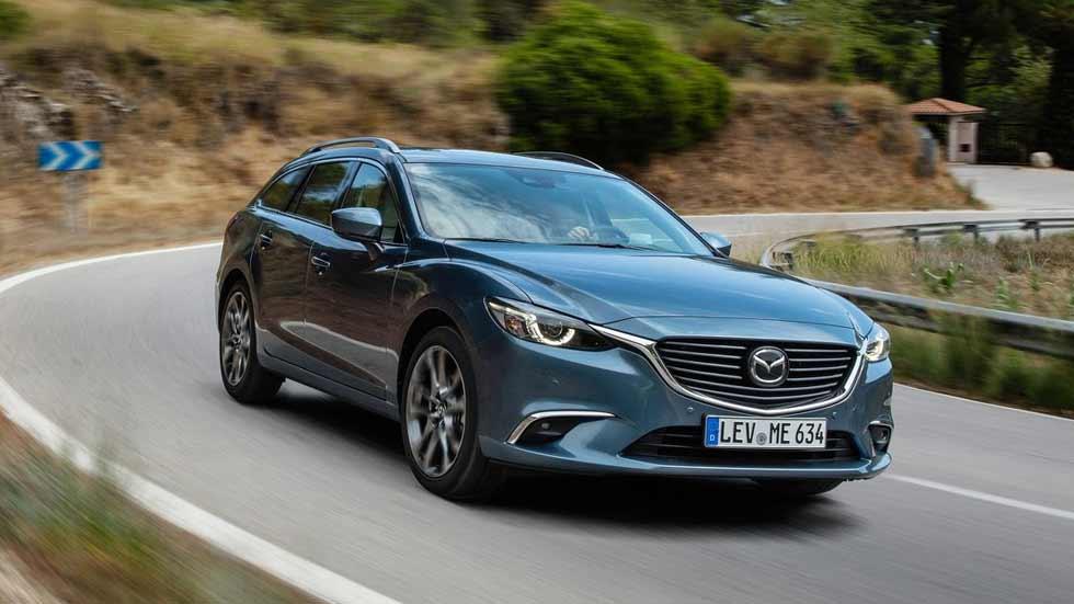 Mazda6 Wagon 2.5 i Aut: opiniones y consumo real