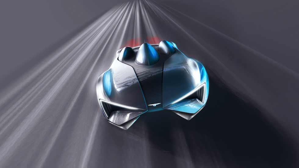 Techrules presentará un superdeportivo eléctrico en el Salón de Ginebra
