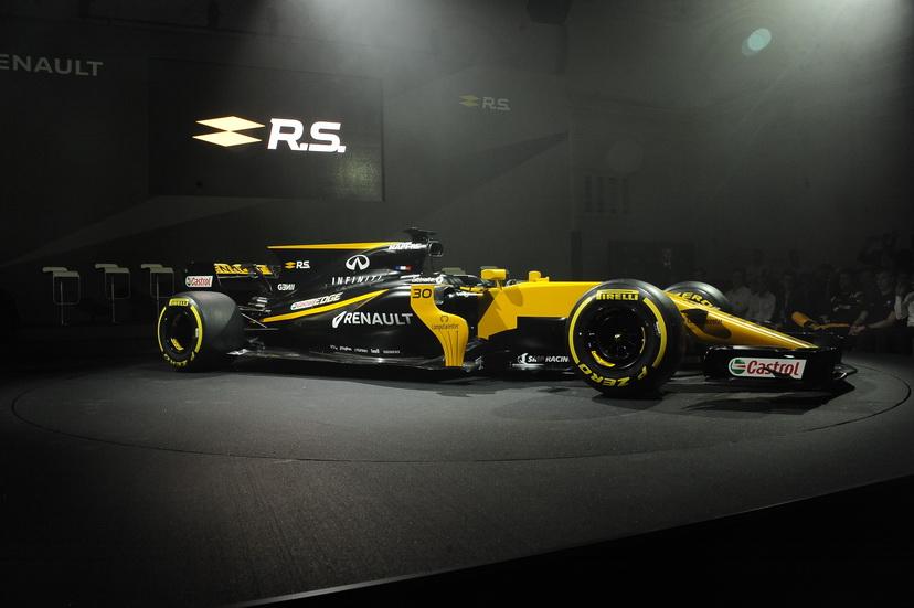 Fórmula 1: el equipo Renault presenta el R.S.17