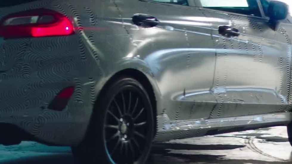 El nuevo Ford Fiesta ST 2017 calienta motores (vídeo)