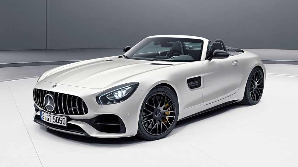 Mercedes-AMG GT C Roadster Edition 50: sólo para 50 afortunados