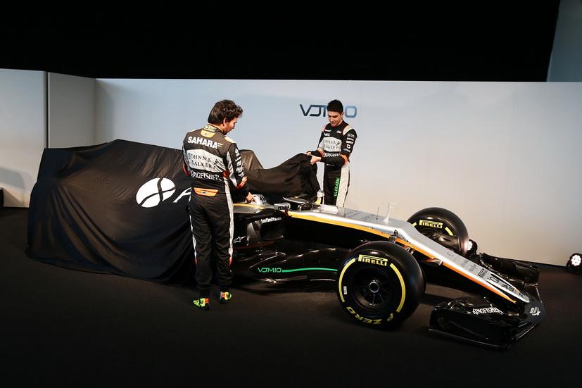 Fórmula 1: así es el VJM10, el Force india de 2017