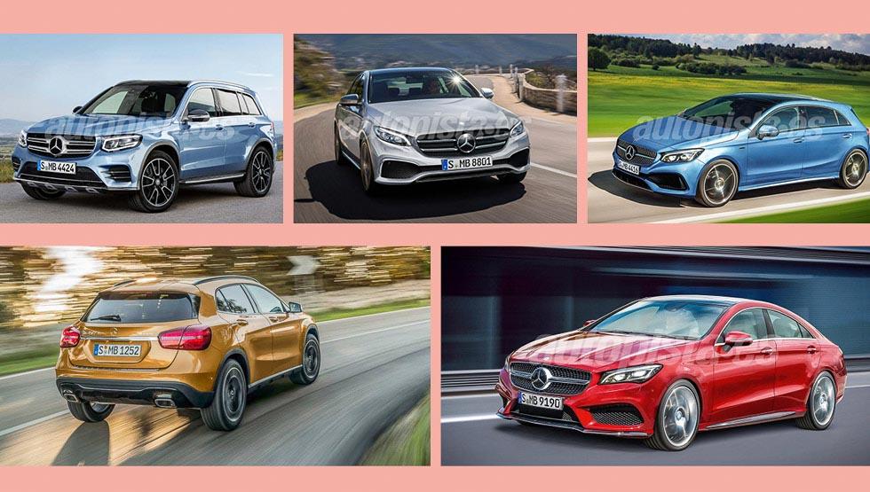 Todas las novedades de Mercedes: 40 nuevos coches hasta 2020