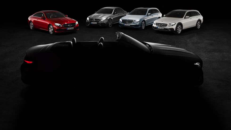 Mercedes Clase E Cabrio 2017: el lujo se destapa en el Salón de Ginebra