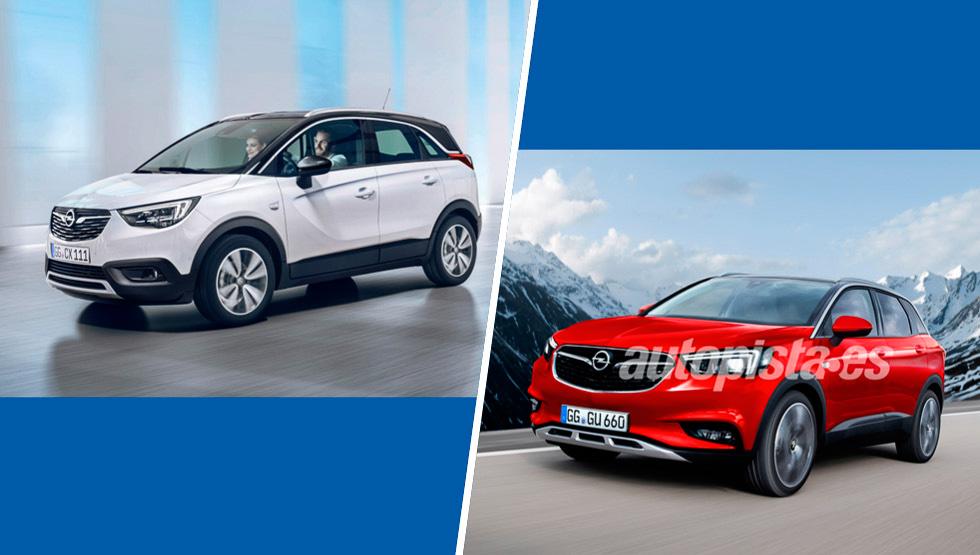 Crossland X y Grandland X: los SUV de Opel en 2017