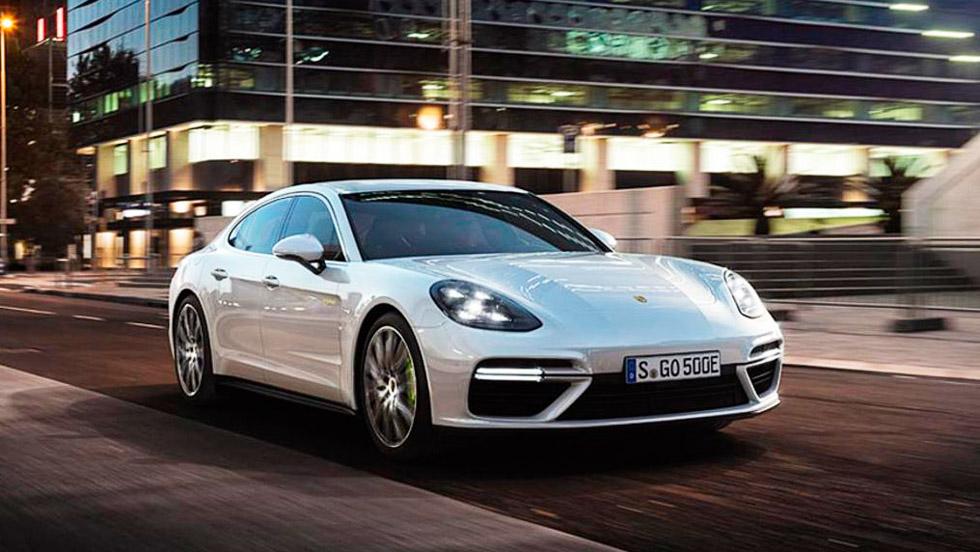 Porsche Panamera Turbo S E-Hybrid, el Panamera más potente es ¡híbrido!