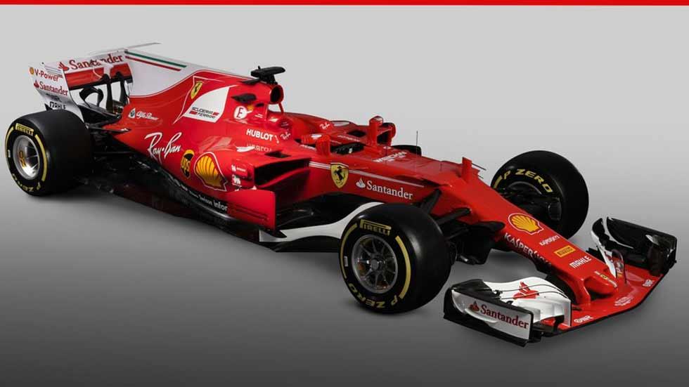 Fórmula 1 2017: Ferrari presenta su monoplaza SF70H