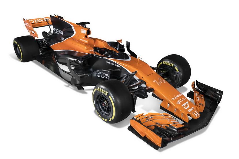 Así es el McLaren MCL32 Honda: el nuevo F1 de Fernando Alonso