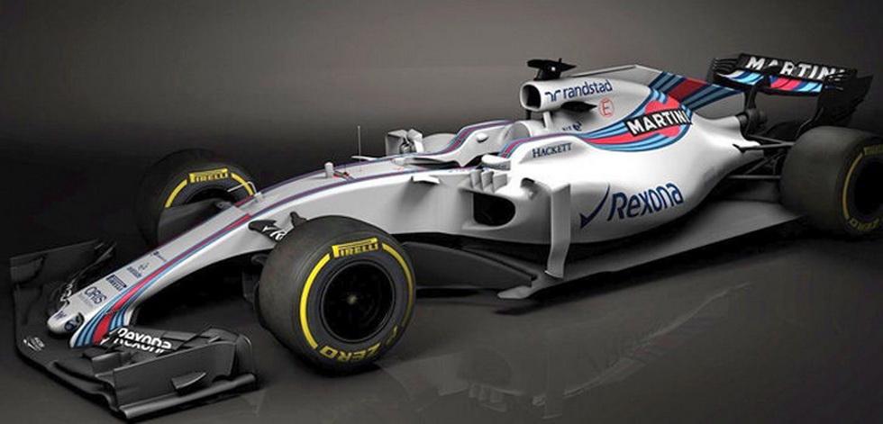 Williams presenta online su nuevo FW40