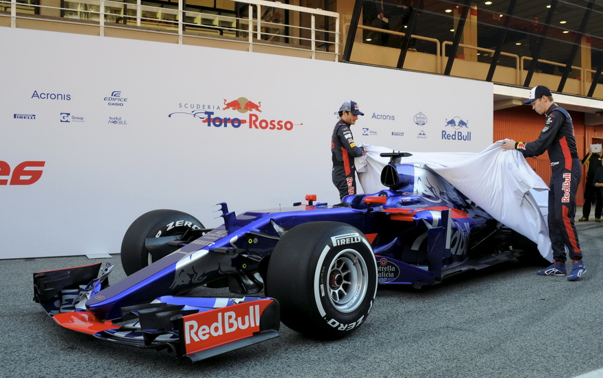 Presentado el Toro Rosso STR12