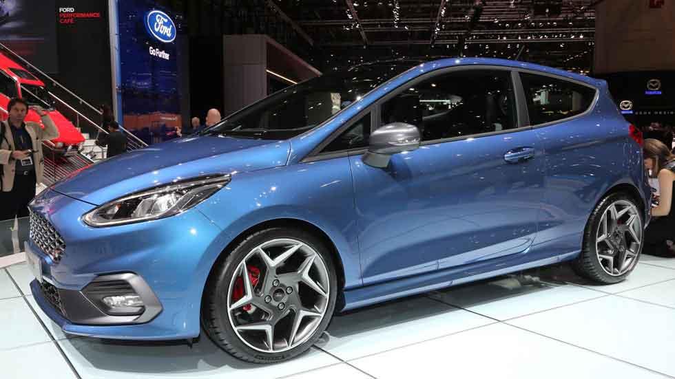Ford Fiesta ST 2017, aún más deportivo